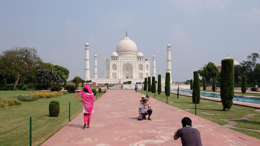 В Индии снова открыли доступ в Тадж-Махал