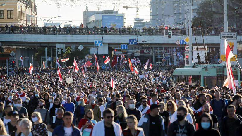Тихановская заявила, что протесты в Белоруссии могут продолжаться годы