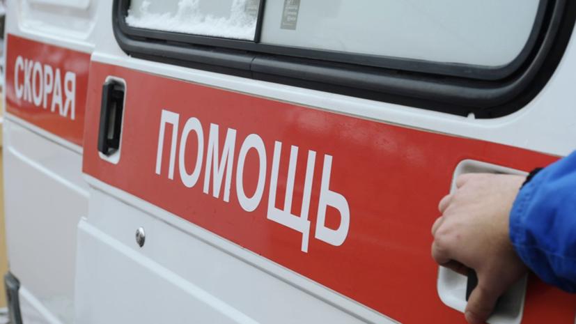 В центре Москвы из-за ДТП машина сбила двух пешеходов