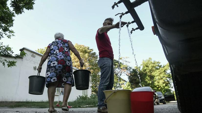 В Крыму прокомментировали ситуацию с питьевой водой