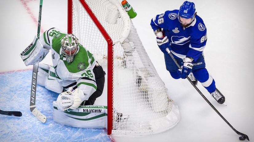 Кучеров установил новый рекорд «Тампы» по очкам в одном плей-офф НХЛ