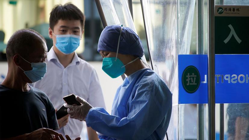 За сутки в КНР выявлено шесть случаев коронавируса