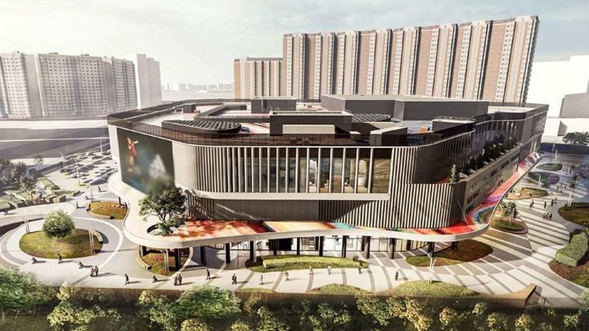 В составе ТПУ «Некрасовка» построят трёхэтажный торговый центр