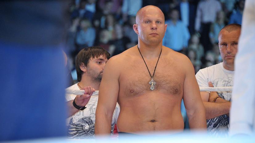 Сулейманов не исключил, что Фёдор Емельяненко мог принимать допинг