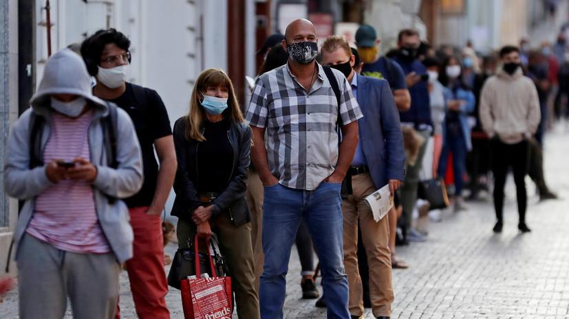 В Чехии вводят новые ограничения из-за коронавируса