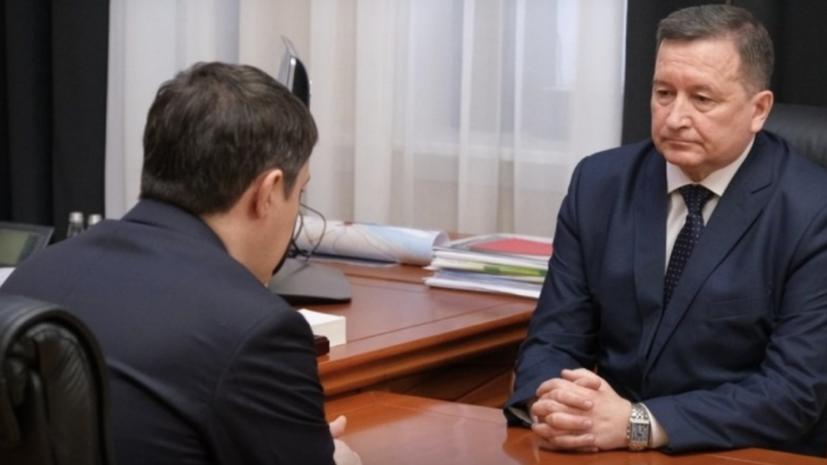 У министра территориальной безопасности Пермского края подтверждён COVID-19