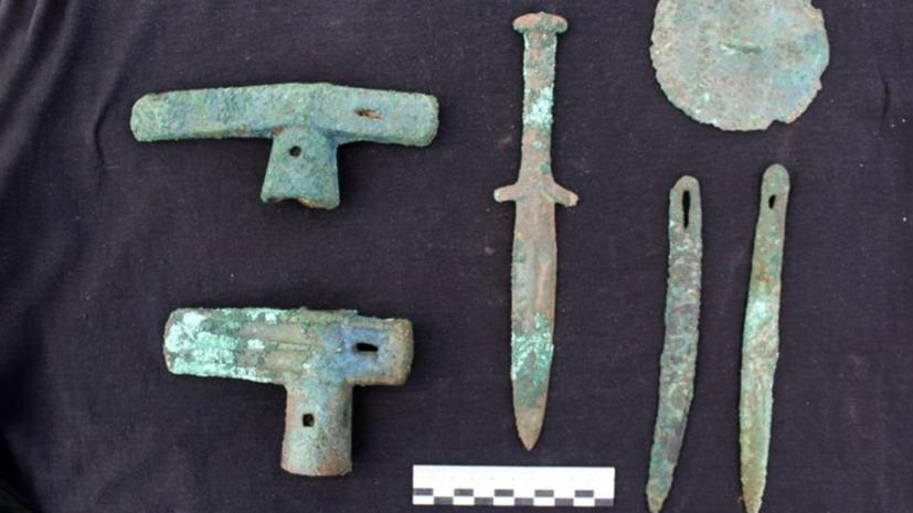 В Хакасии археологи нашли могильник древних скифов