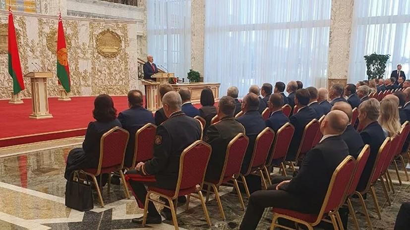 Песков назвал проведение инаугурации суверенным решением Белоруссии