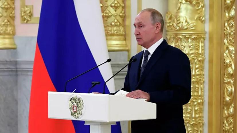 Путин назвал хамством прекращение поставок
