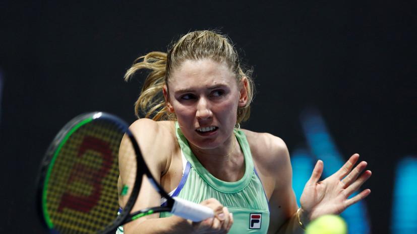 Александрова уступила Синяковой во втором круге турнира WTA в Страсбурге
