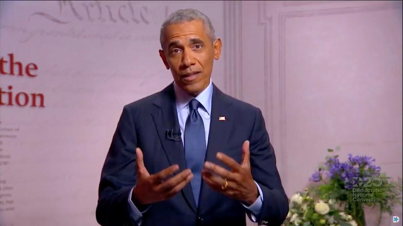 Обама попросил американцев писать ему смс