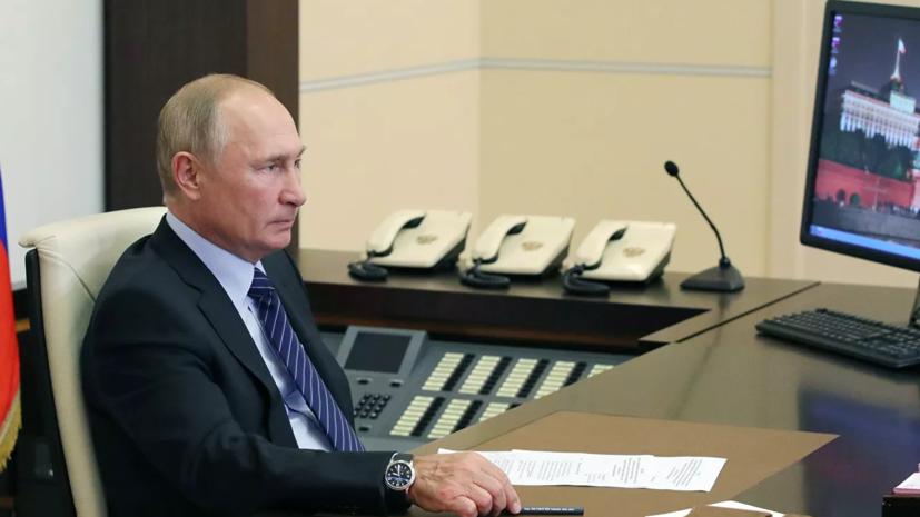 Путин пообщается по видео с победившими на выборах губернаторами