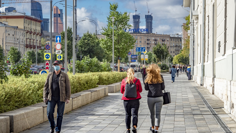 В Москве 24 сентября ожидается до +24 °С