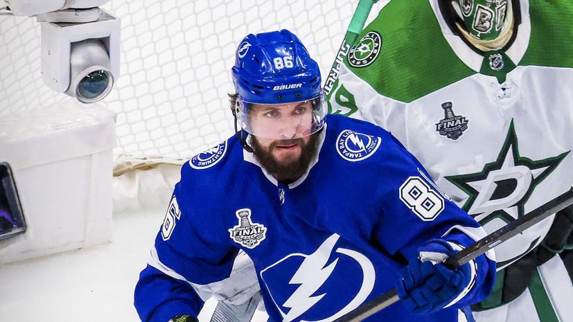 Кучеров установил российский рекорд по голевым передачам в одном плей-офф НХЛ