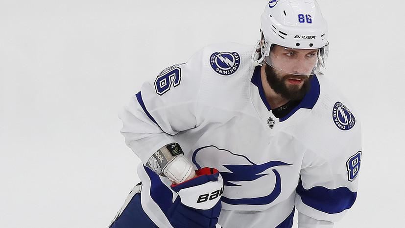 Кучеров стал пятым европейцем, набравшим 30 очков в одном плей-офф НХЛ