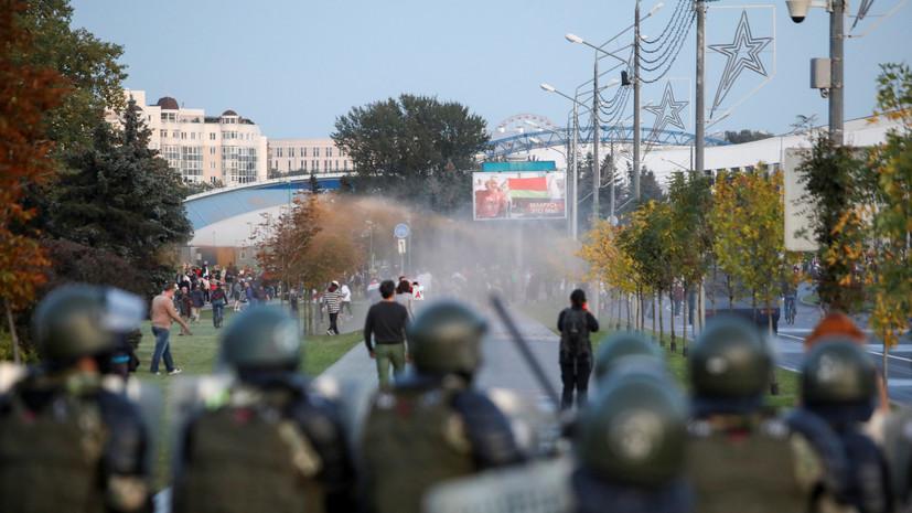 МВД Белоруссии сообщило о 364 задержанных на акциях 23 сентября