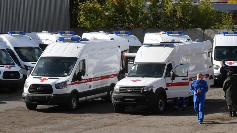В Удмуртии рассказали о поставках санитарных автомобилей для скорой помощи
