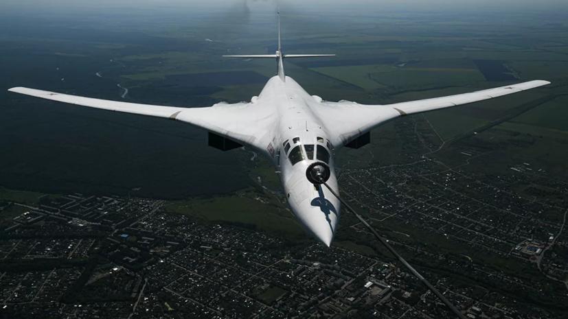 Российские ракетоносцы Ту-160 пролетели вдоль границ Белоруссии