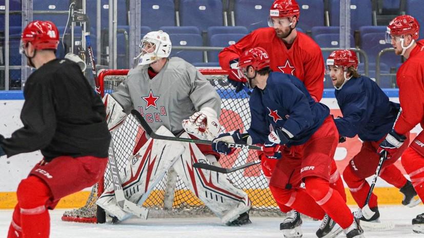 Дубль Шалунова помог ЦСКА разгромить «Северсталь» в матче КХЛ