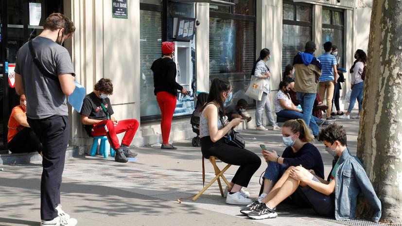 Во Франции допускают повторный карантин при росте случаев коронавируса
