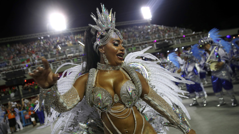 В Рио-де-Жанейро из-за коронавируса перенесли традиционный карнавал