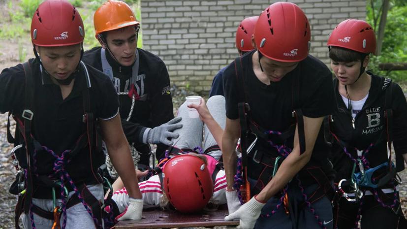 В Оренбургской области начал работу полевой лагерь «Юный спасатель»