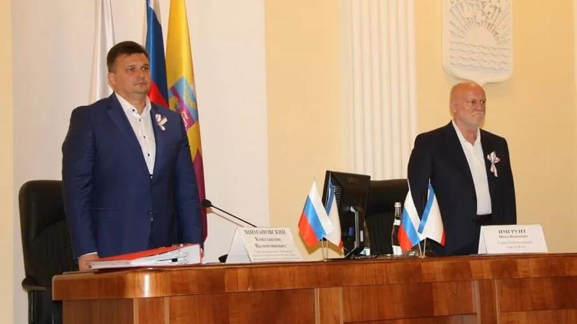 Мэр Ялты уволил поддержавшего протесты в Белоруссии заместителя