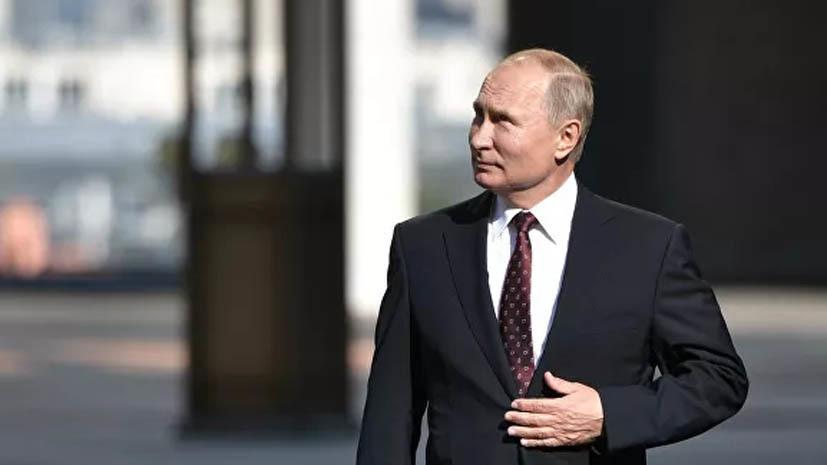 Путин прибыл на учения «Кавказ-2020»