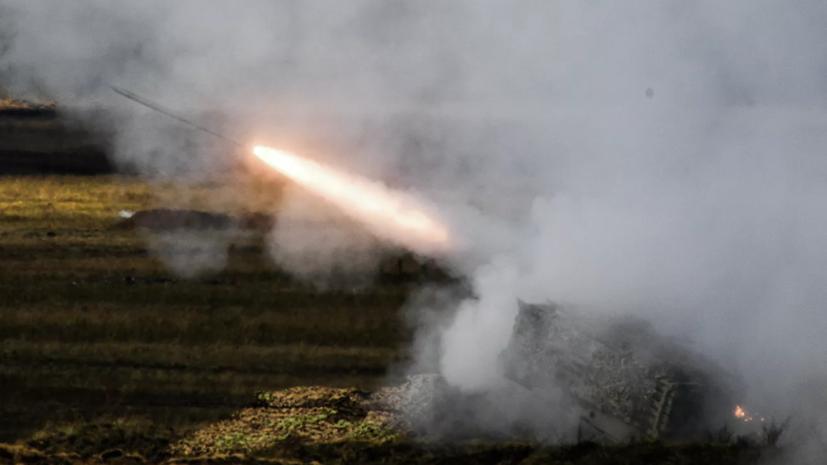 ВС России впервые применили систему ТОС-2 на учениях «Кавказ-2020»
