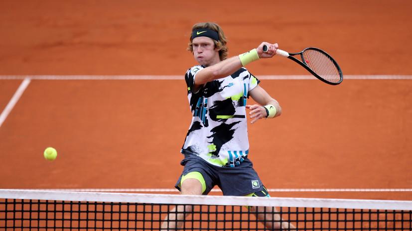 Рублёв обыграл Баутисту-Агута и вышел в полуфинал турнира ATP в Гамбурге