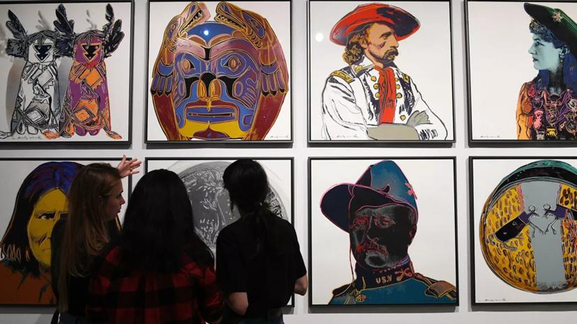 Выставка «Я, Энди Уорхол» открылась в Москве