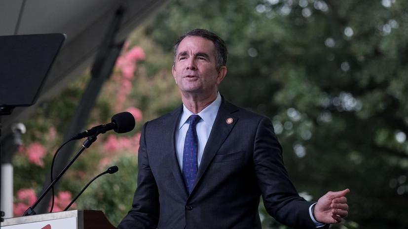 Губернатор штата Вирджиния заболел коронавирусом