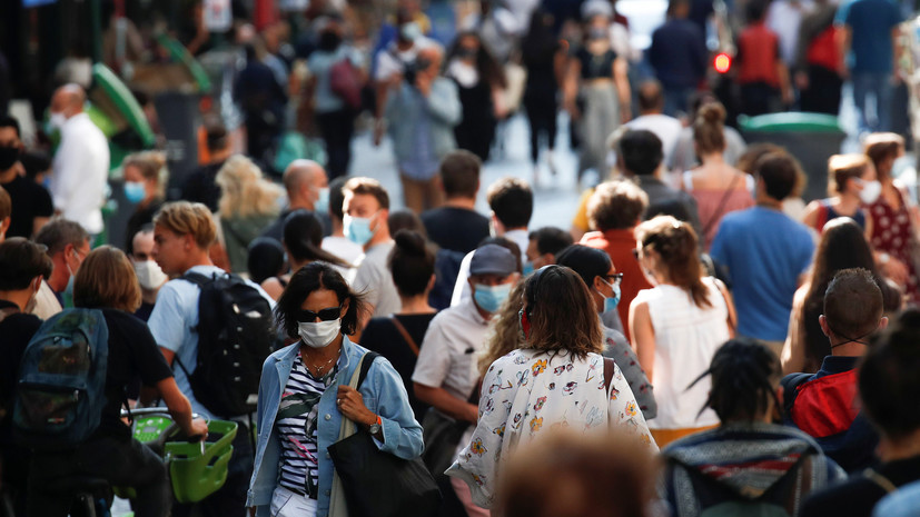 Во Франции число случаев коронавируса превысило 513 тысяч