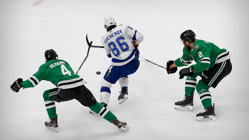 Кучеров установил рекорд плей-офф НХЛ по передачам среди крайних нападающих