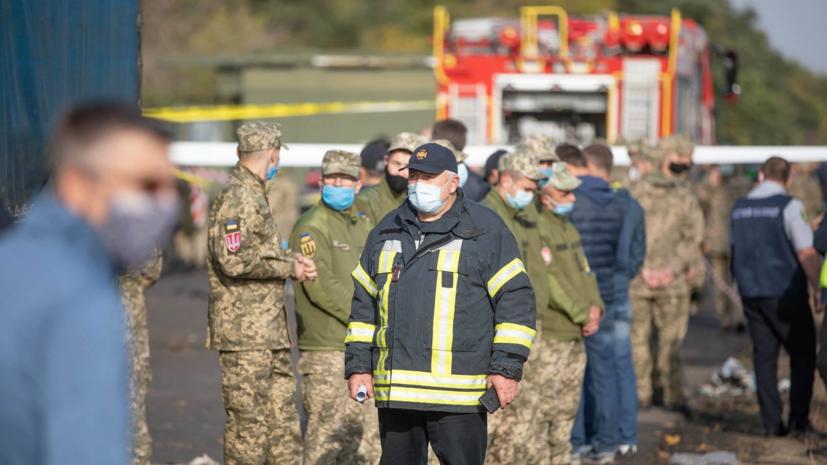 Найдены тела всех погибших в катастрофе Ан-26 под Харьковом