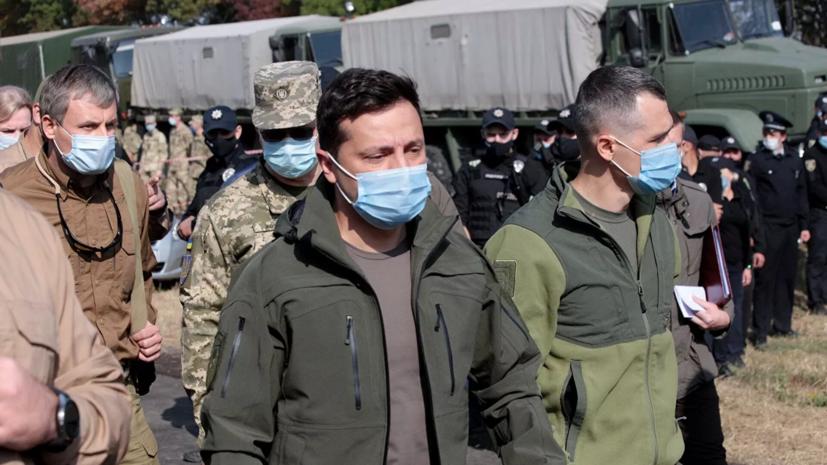 Зеленский посетил в больнице выжившего при крушении Ан-26 под Харьковом