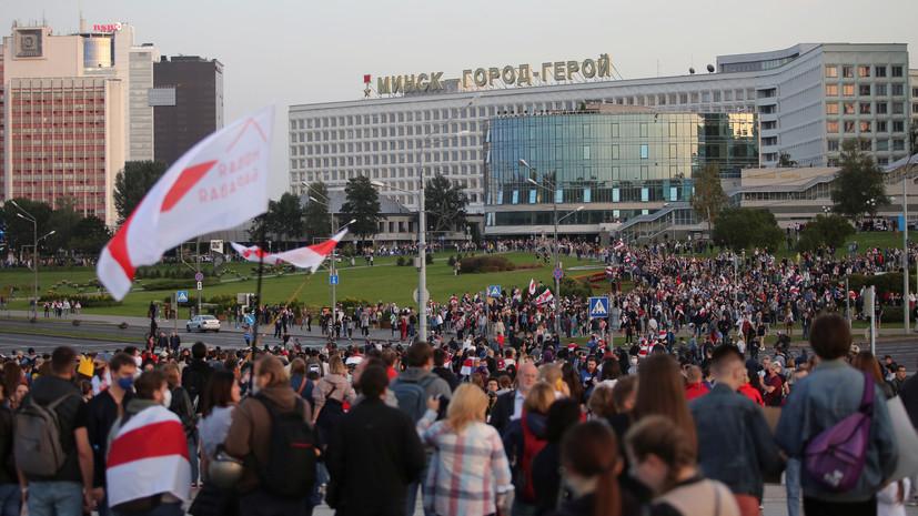 Макей заявил о попытке западных стран ввергнуть Белоруссию в хаос