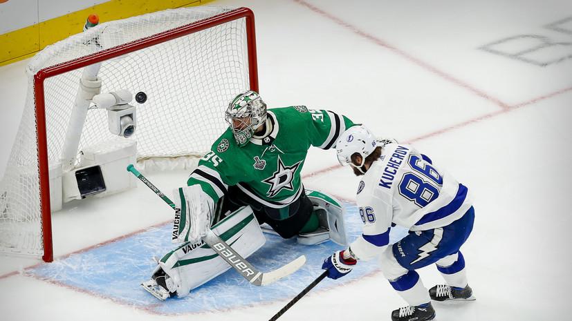 Худобин вышел на третье место в истории НХЛ по отражённым броскам за один плей-офф