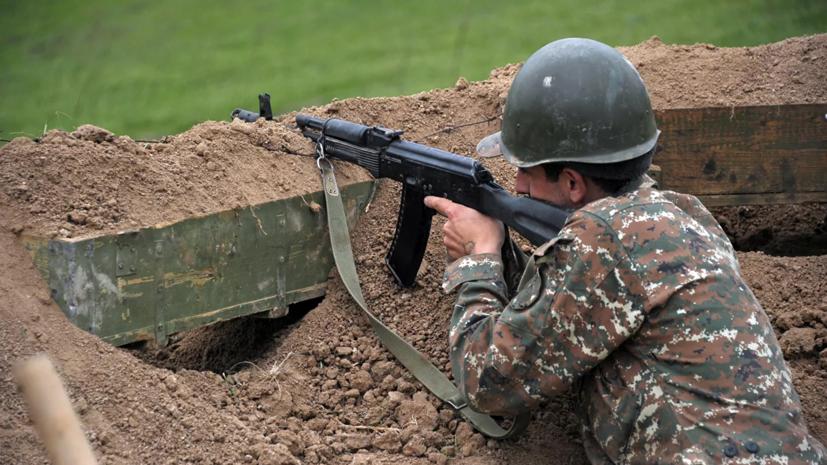 В Нагорном Карабахе объявили военное положение