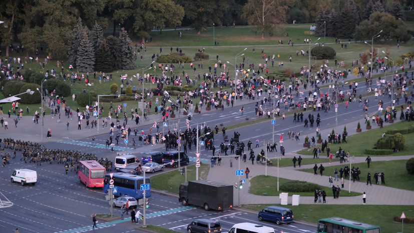 МВД предупредило об ограничении движения транспорта в Минске