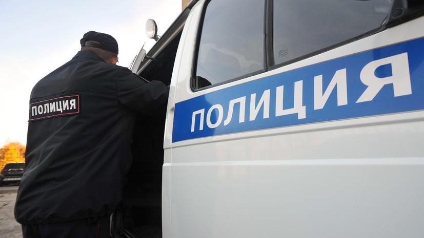 В Москве доставили в отделение полиции трёх человек после стрельбы