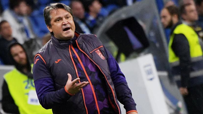 Гендиректор «Уфы» заявил, что клуб пока не намерен увольнять Евсеева