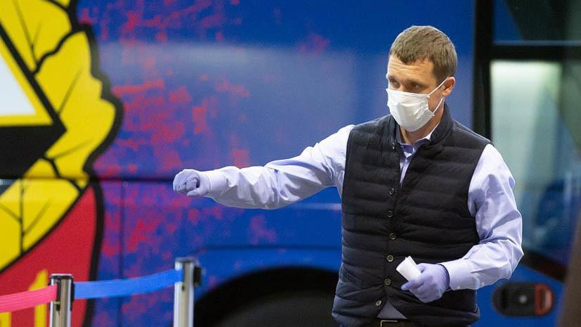 Гончаренко о невыходе Васина в матче с «Локомотивом»: он очень долго переодевался и ещё забыл щитки в раздевалке