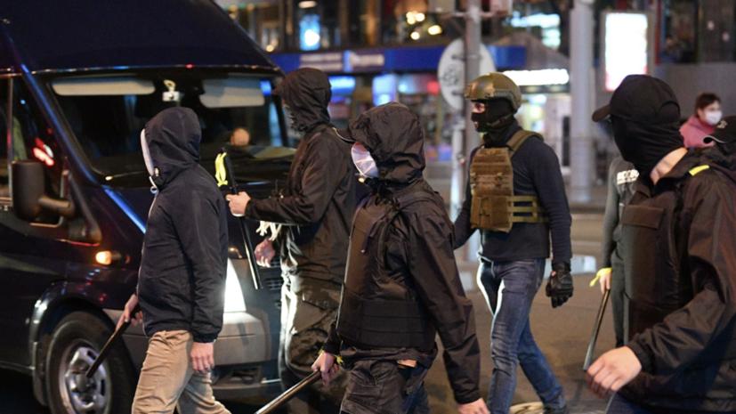 В Гродно применили против протестующих слезоточивый газ