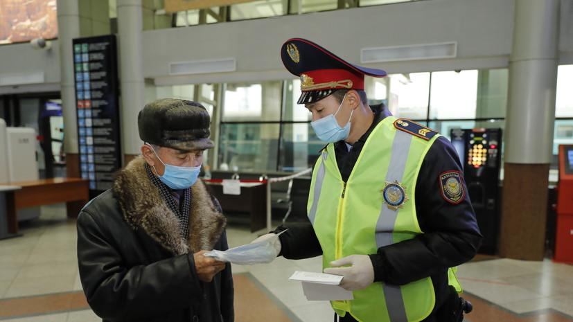 Число случаев коронавируса в Казахстане достигло 107 775