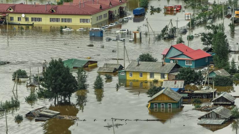 Более 50 населённых пунктов находятся в зоне паводков в Хабаровском крае