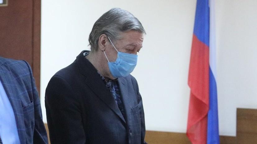 Ефремов лично подал жалобу на приговор по делу о ДТП