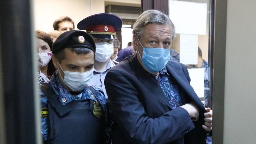 «Признаёт себя виновным и раскаивается»: в суде сообщили о жалобе Ефремова на приговор по делу о смертельном ДТП
