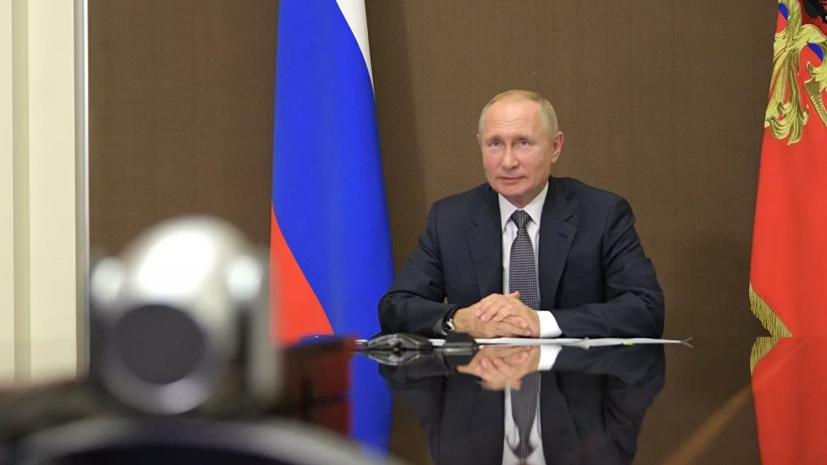 Путин поручил изучить вопрос реконструкции дорог на южном направлении