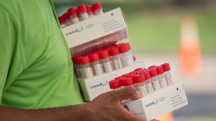 В США провели 100 млн тестов на коронавирус